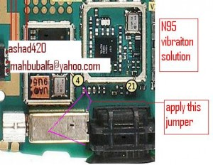 n95vibrater 300x232 - Nokia N95 Vibrator is not working problem solution