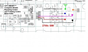 2700sim 300x177 - Nokia 2700 insert sim problem solution without sim ic. Ways rack jumpers