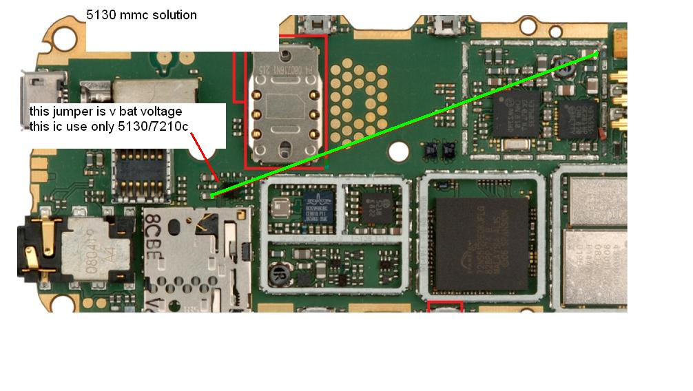 nokia 5130 mmc memory card problem solution ways track jumpers.
