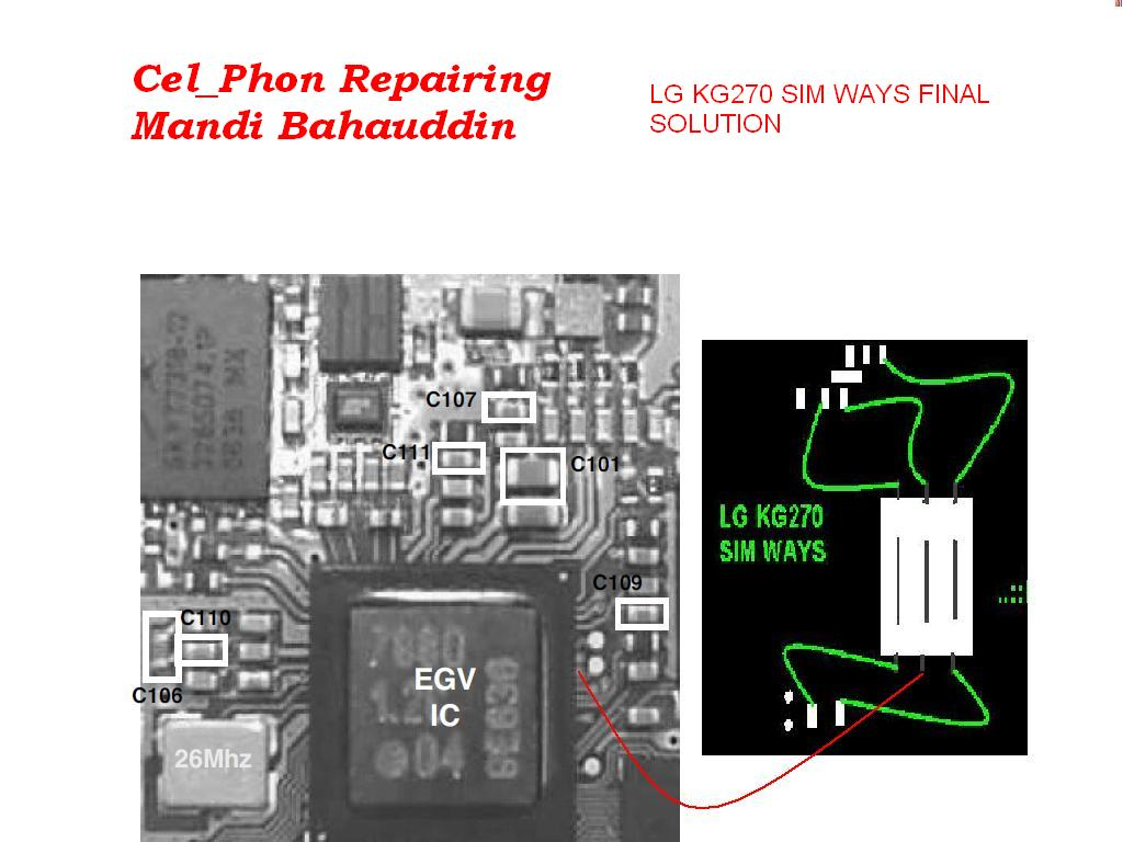 Lg ce0168 charging problem solution