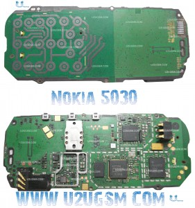 Nokia 5030 PCB Diagram