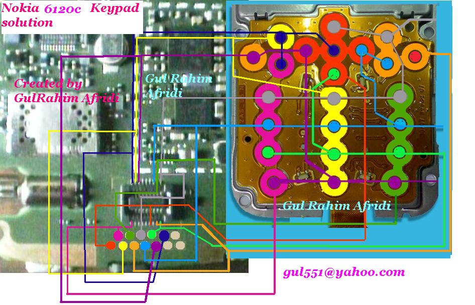 on board keypad jack links are in this diagram so look at this also