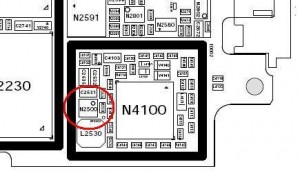 lcd ic location in sony ericsson k750i problem solution