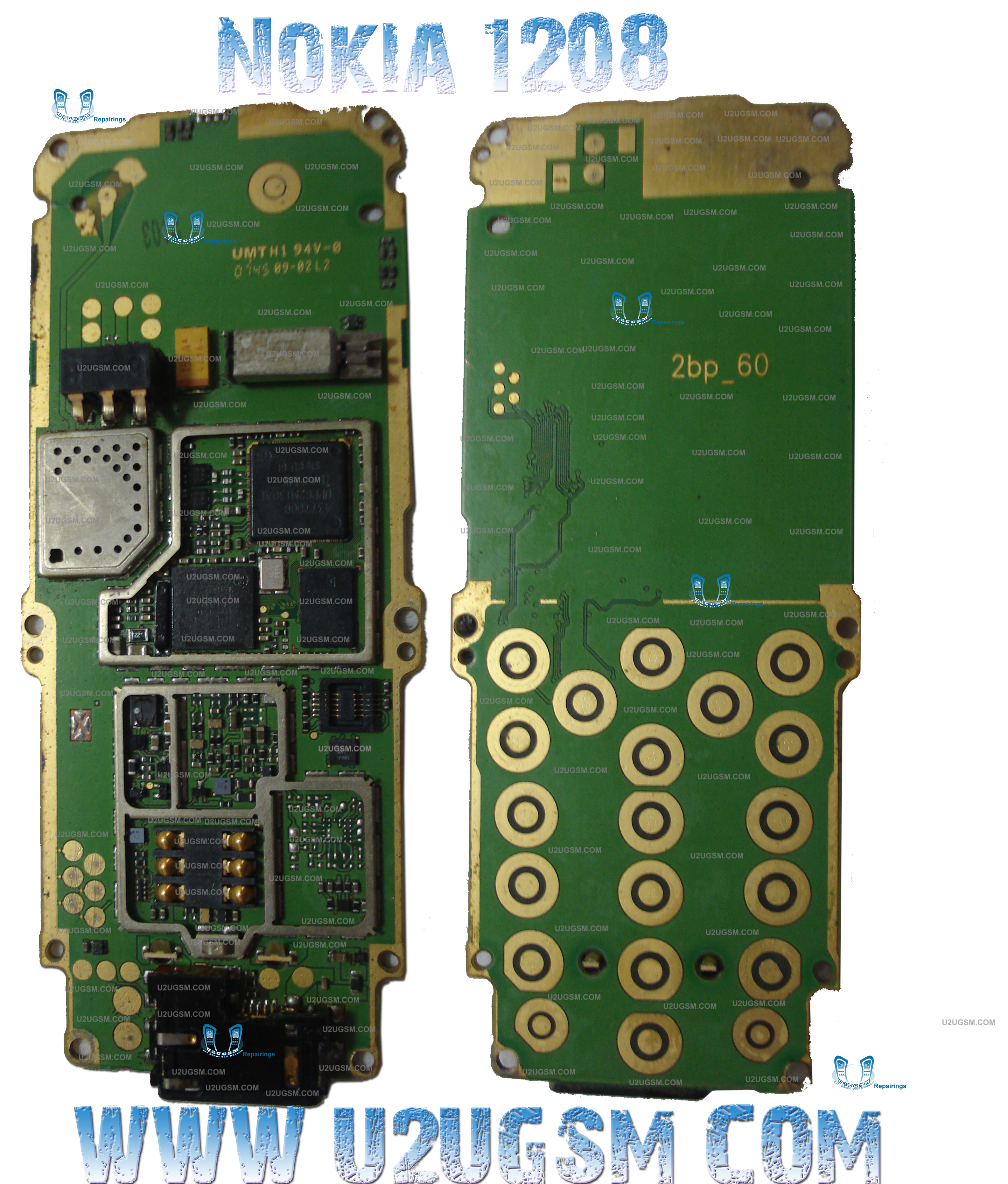 Download High Resolution Diagram of Nokia 1208