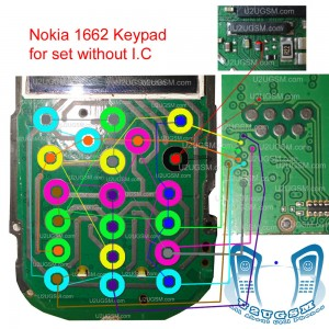 Nokia 1662    Keypad    Ways Without Sim    Ic    Problem Solution Jumpers