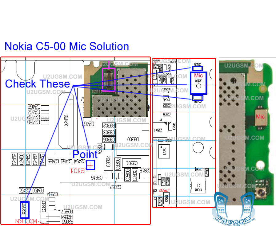 nokia c5 00 mic not working problem solution ways jumpers