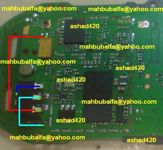 Nokia 1280 Battery Terminal Points Damage Ways Problem Solution if in