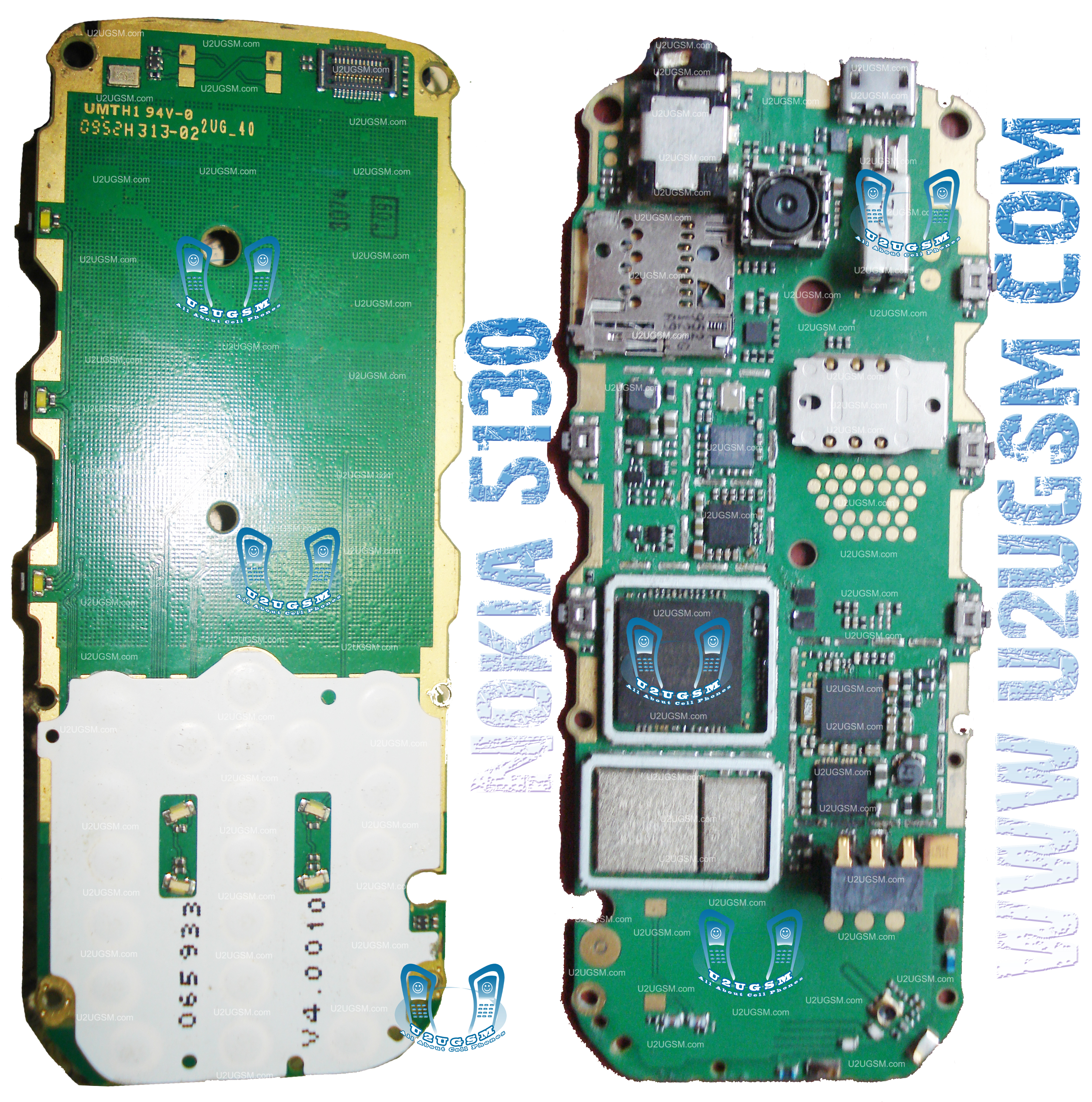 Tracking Nokia Cell Phone Schematic Diagram