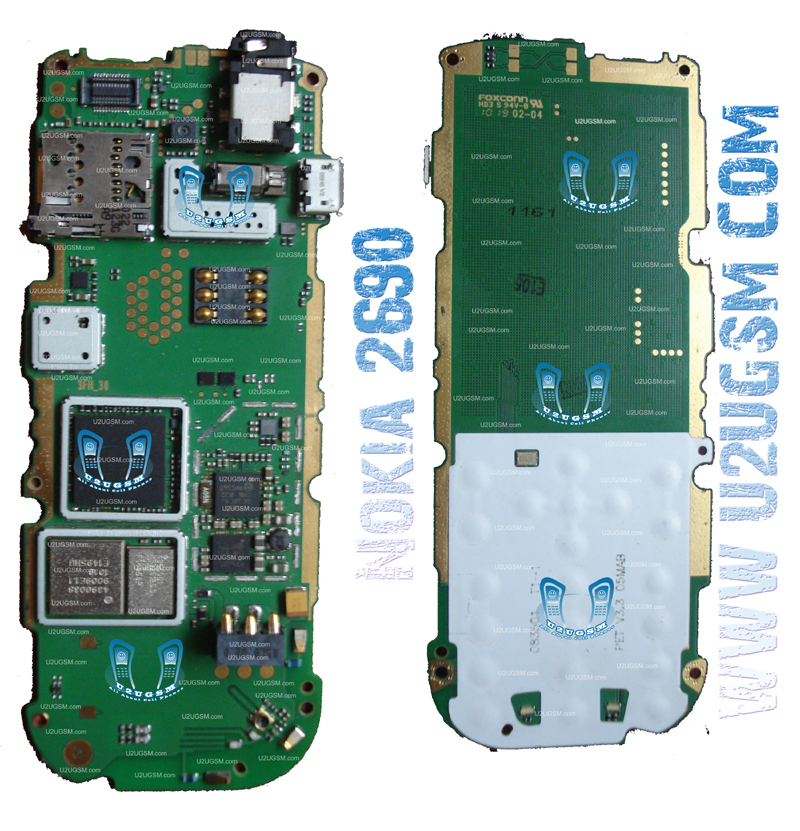 Nokia 2690 Full PCB Diagram Mother Board Layout.m