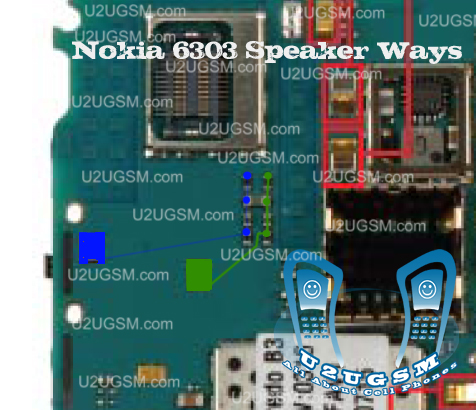 Nokia 6303 Earp ace Speaker Problem Solution Jumper Ways Tips Tricks.