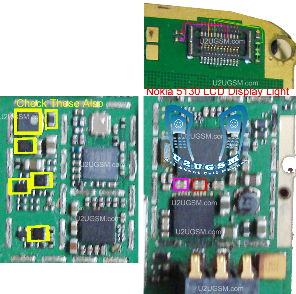 nokia 5130 lcd light problem solution ways jumpers tracking.1