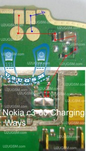 Nokia C3-00 Charging Problem Solution Ways Jumpers Not Charging.