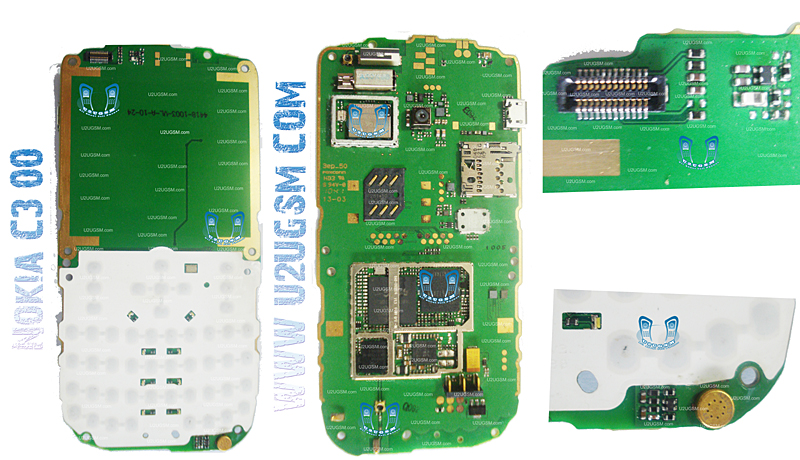 nokia c3 00 full pcb diagram mother board layout mobile repairing rh repairing u2ugsm com Nokia C7 Nokia C3