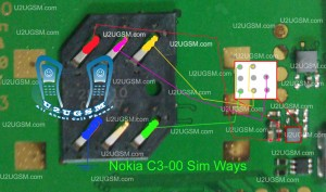 Nokia C3-00 Insert Sim Problem Solution Ways Jumpers.