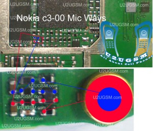 Nokia C3-00 Mic Problem Solution Jumper Ways