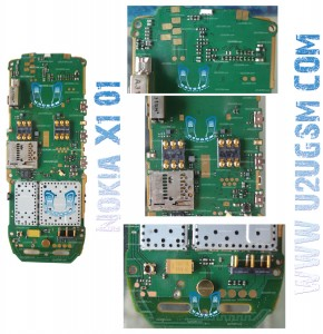 Nokia X1-01 Full PCB Diagram Mother Board Layout.
