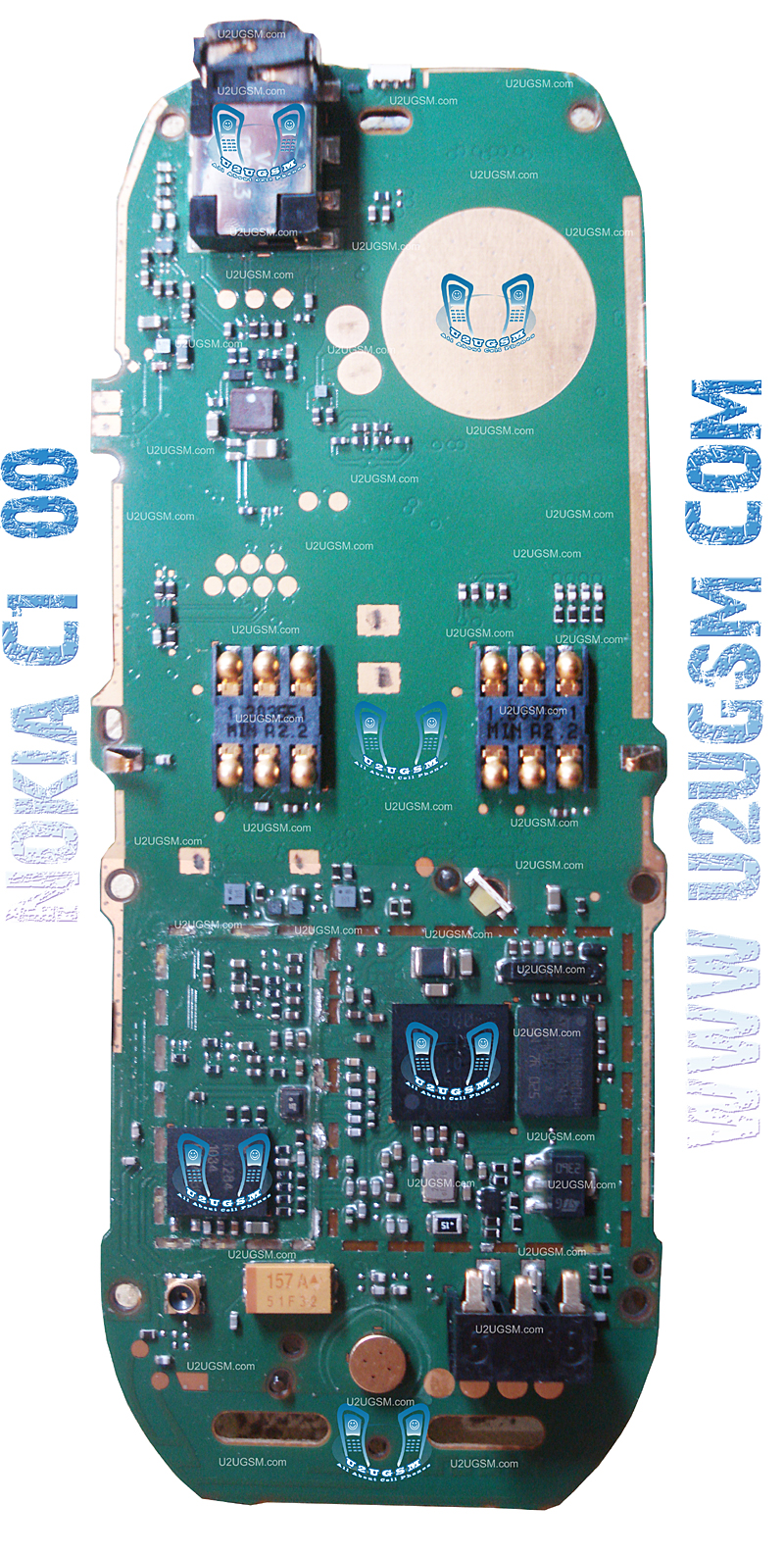 Nokia C1-00 Full PCB Diagram Mother Board Layout.