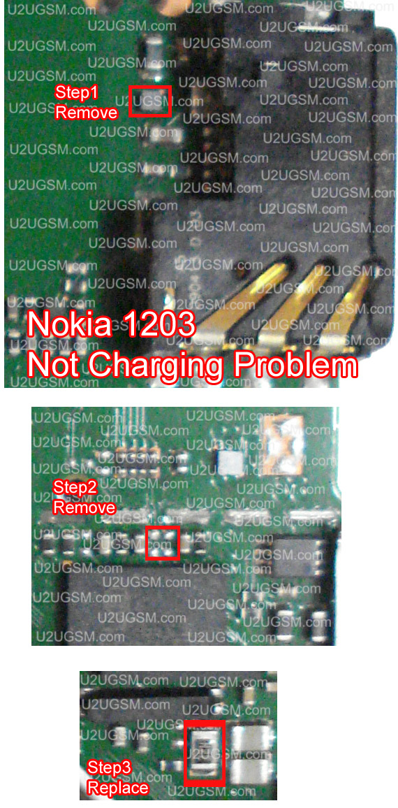 Nokia 1203 Not Charging Problem Solution 100  Tested