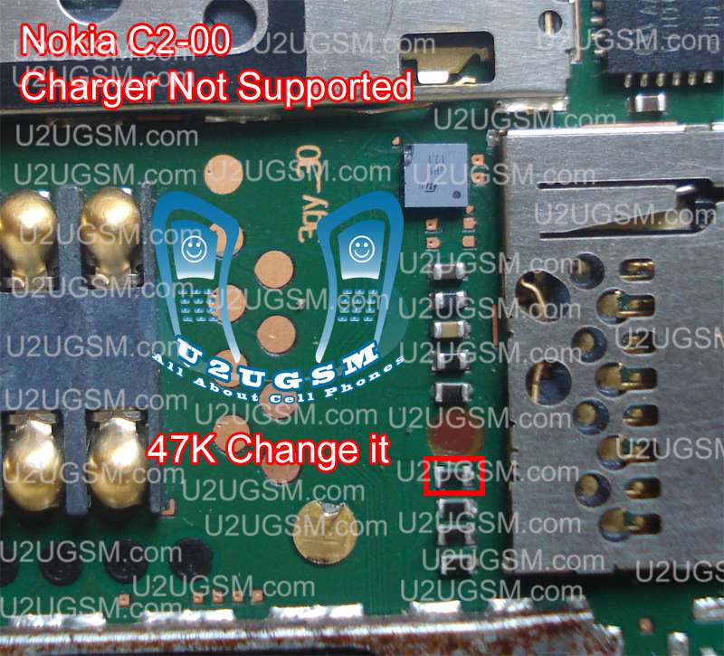 Nokia C2-00 Charger Not Supported Problem Solution Ways Jumpers