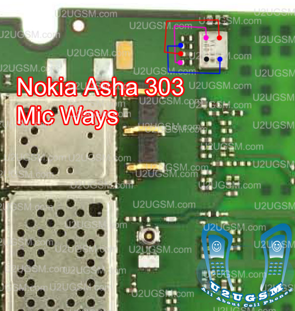 Nokia Asha 303 Mic Not Working Problem Solution Jumpers