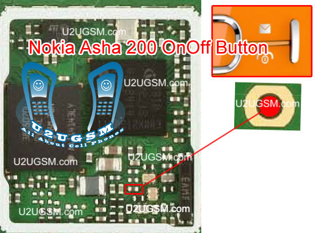 Nokia Asha 200 Power Button On Off Switch Not Working Problem ~ Htc