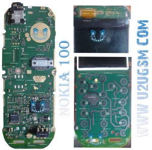 Nokia 100 Full PCB Diagram Mother Board Layout.