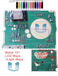 Nokia 100 LCD Blank Display Ways Jumpers Problem Solution.