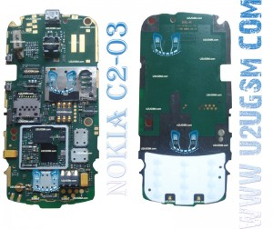 Nokia C2-06 Full PCB Diagram Mother Board Layout-m