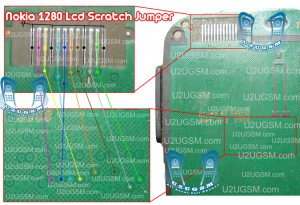 Nokia 103 Lcd Display Scratch Jumpers.