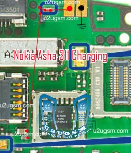 Nokia Asha 311 Not Charging Problem Solution Jumper Ways