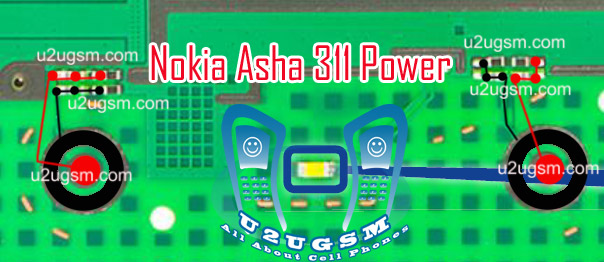 Asha 305 call keypad solution