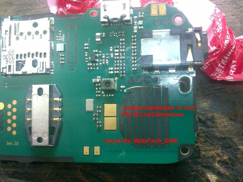 If Nokia C1-01 keypad light is working but lcd light is not working
