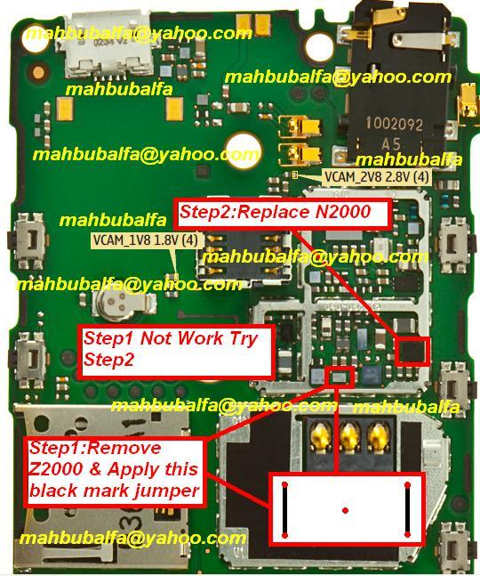 parts and if problem is not solve remove first ic and make jumpers