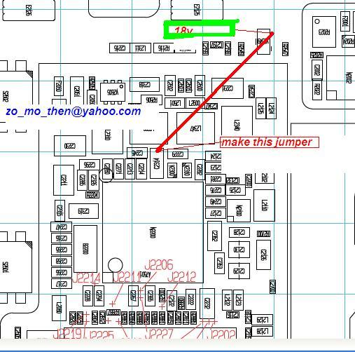 diagram so in first step check lcd jack and lcd