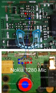 nokia 103 mic ways jumpers problem solution