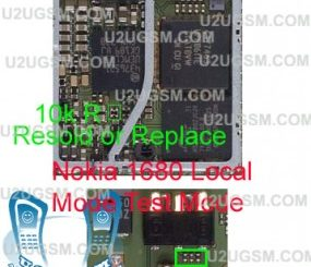 Microphone problem of the Nokia 1616 repair solutions