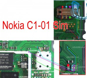 Insert Sim Jumper Solution for Nokia C1-02 Tested
