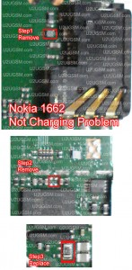 Nokia 1662 Not Charging Problem Solution 100 Tested