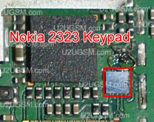Nokia 2320 keypad problem solution with Ic