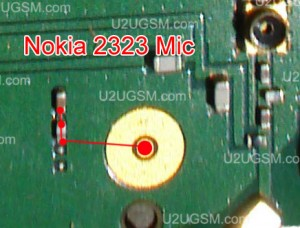 Nokia 2323 Classic Mic Problem Solution Jumper Ways