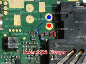 Nokia 2323 Classic Not Not Charging Problem Solution Jumpers