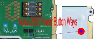 Nokia 2690 Power Button On Off Problem Ways Jumpers Solution.