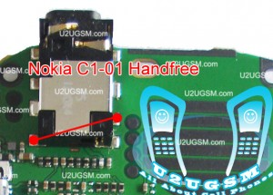 Nokia C1-01 Hand Free Open Problem Solution Jumper Ways