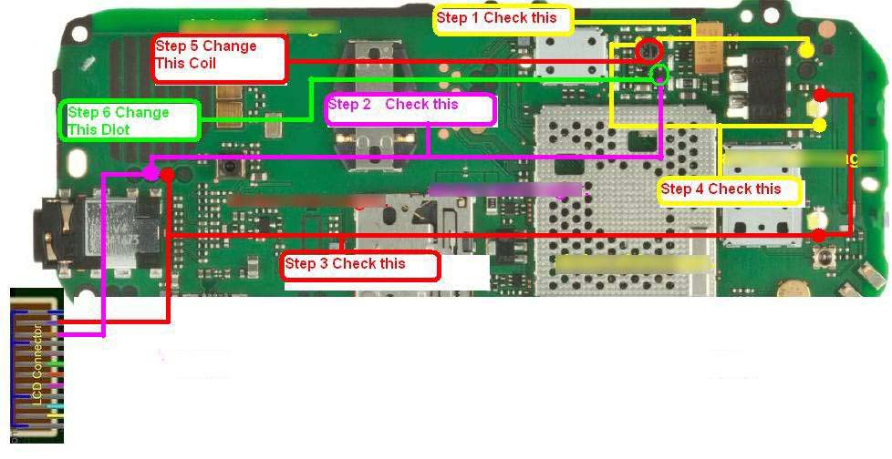 ... light solution in nokia c1 01 read sources nokia c100 light ic display