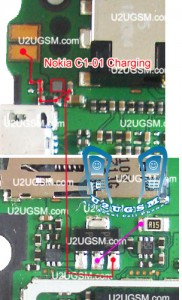 Nokia C1-01 Not Charging Problem Solution Jumper Ways