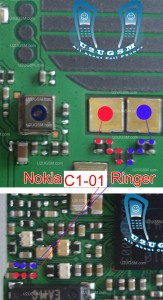 Nokia C1-01 speaker ear piece problem solution jumper ways
