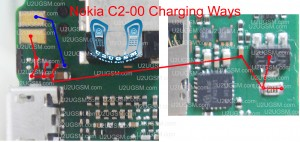 Nokia C2-00 not charging problem solution ways.
