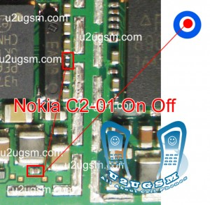 Nokia C2-01 On Off button not working ways jumpers