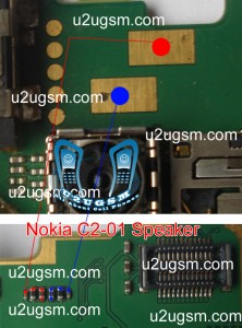 Nokia C2-01 Speaker Ear piece is not working proble solution