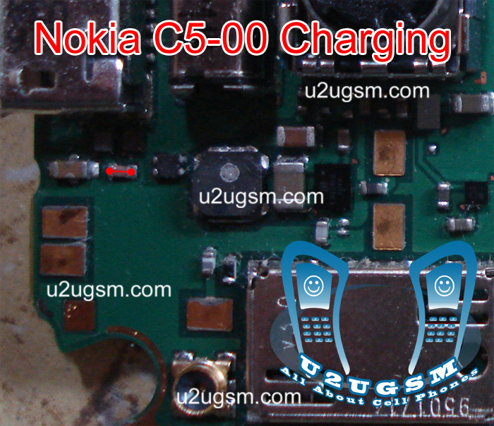 Nokia C5 00 Charging IC Not working problem solution